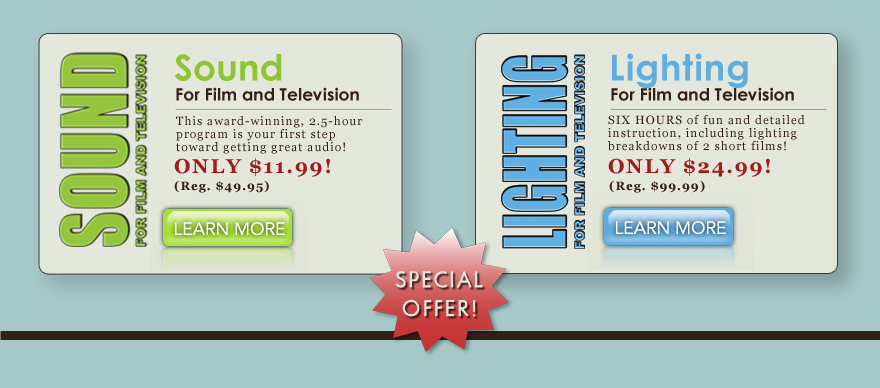 LIGHTING for Film and